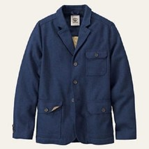 TIMBERLAND MT.HAYES 8238J-019 MEN'S NAVY WOOL BLEND TRAVEL JACKET sz M, ... - $110.99