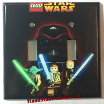 Lego Star Wars Darth Vader Light Switch Power Outlet Cover Plate Home Decor image 3