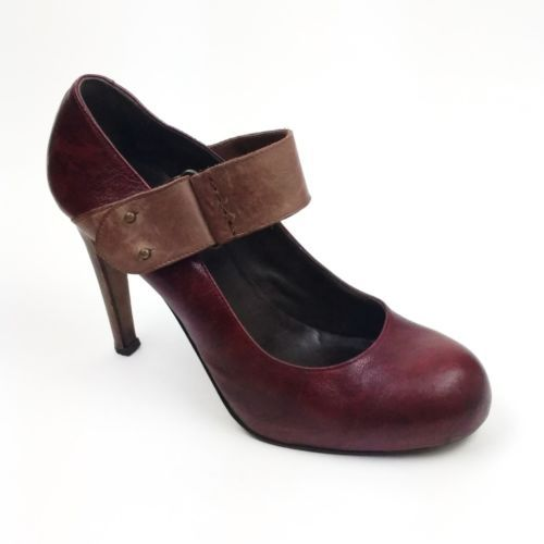 90bcb7634602e7 Joie LAYLA Size 41 Burgundy Red Leather Tan and 50 similar items
