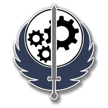 Winged Sword and Gears Precision Cut Decal - $3.46+