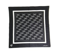 Dolce & Gabbana Black Cotton Sicilian Western Pattern Scarf - $85.71