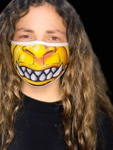 Face Mask Gamorrean Guard Fun Creepy Teeth Monster Scary Funny Washable ... - $9.97
