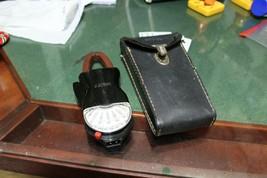 Vintage Bakelite Weston  Amp-Volt Clip-on Handheld Meter With Leather Case - $18.70