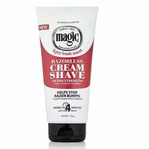Magic Razorless Cream Shave Extra Strength 6 Oz. Pack of 3 image 2