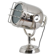 Nickel Industrial Spotlight Table Lamp - $163.00