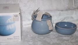 Rishi Indigo Koryo Blue Tea Cup With Infuser..New - $9.94