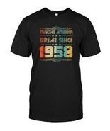 Retro Vintage 1958 Old School 60 Years Old Birthday T Shirt - $17.99+