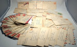 80 USA WWII Mail ARMY Military Navy APO Airmail War Cover Collection 194... - $82.80