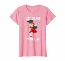 Large size shirts - Dabbing Girl Graduation 1st Grade And Nailed It T-shirt Wowe - $19.95+