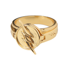 Reverse Flash Ring Zinc Alloy Golden Ring Replica Costume Accessories - $26.35 CAD