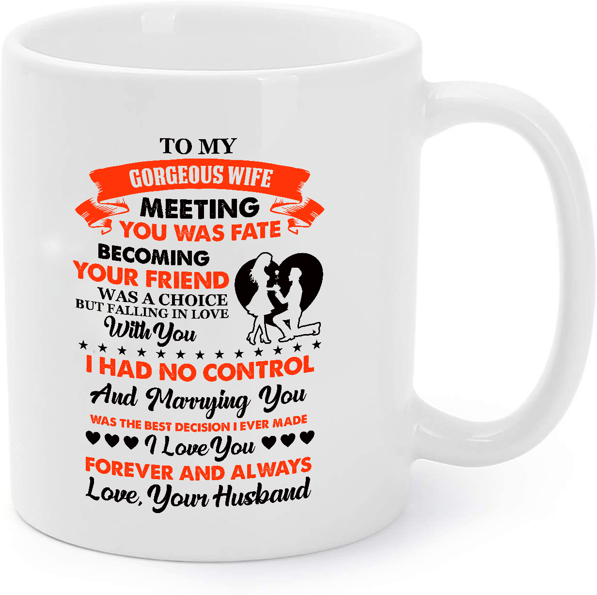 Primary image for Gift For Wife - Marrying You Was The Best Decision Coffee Mug