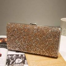 Banquet Handbag Clutch Purse Evening Party Wedding Women Diamond Bags - $25.00