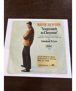 WAYNE NEWTON PROMO VINYL 45 CAPITOL RECORDS STAGECOACH CONTINENTAL FLIGH... - $200.00