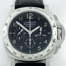 Panerai Luminor Daylight Chronograph Men's Stainless Steel Watch OP 6637 - $7,524.00
