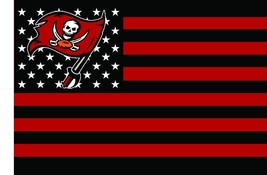Large Tampa Bay Buccaneers Football Flag Banner 3x5 FT with Metal Grommets - £13.37 GBP