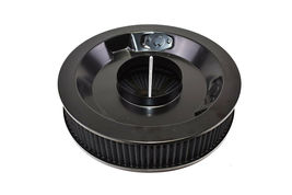 HIGH FLOW REPLACEMENT AIR CLEANER ASSEMBLY W/ FLOW-THRU LID AIR FILTER BLACK image 4