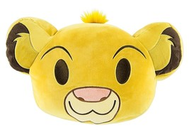 Disney Simba Emoji 10'' Smiling Expressions Pillow Plush New With Tags - $26.56 CAD
