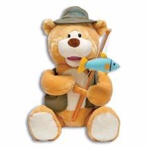 Animated Musical Bear - Gone Fishin' Flynn by Cuddle Barn by Cuddle Barn - $37.02