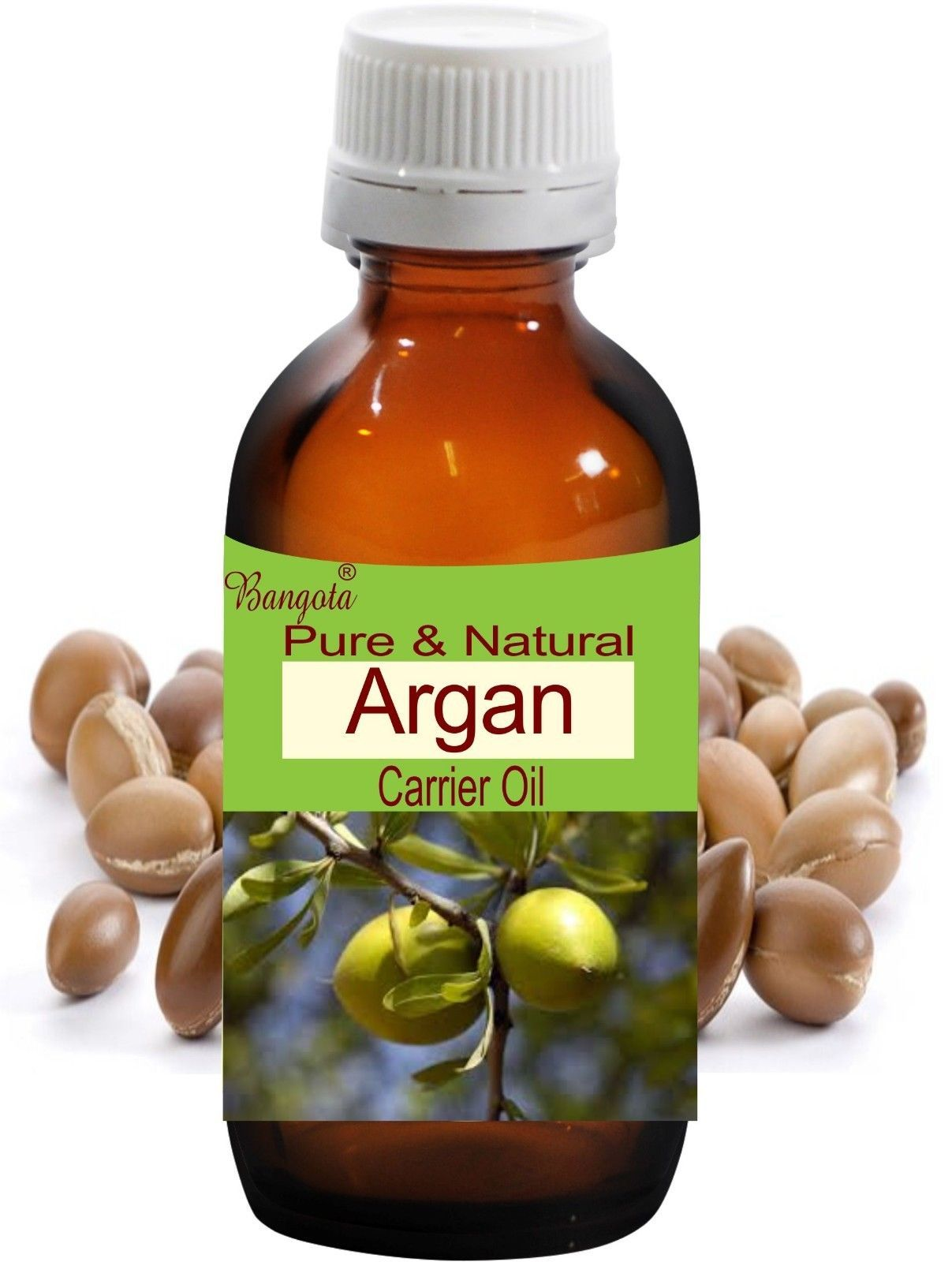 Argan Oil- Pure & Natural Carrier Oil- 50ml Argania Spinosa by Bangota