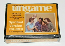 Vintage 1983 The Ungame Pocket Size Spiritual Version Vol 2 VTG Christia... - $24.75