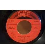 DOO WOP ~ CLEFTONES ~ LITTLE GIRL of MINE 45 RPM GEE RECORD LABEL - $4.00