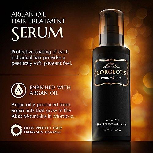 100ml Argan Oil Hair Care Nourish Scalp Treatment Smooth Damaged Dry Repair Hair - $29.69