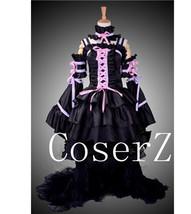Chobits Eruda Black Gorgeous Dress Cosplay Costume - $125.00