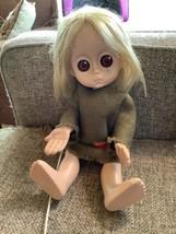 LITTLE MISS NO NAME Hasbro 1965 Sad Big Eye Doll All ORIGINAL Tear Dress... - $399.99