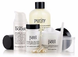 Philosophy  PURITY CLEANSER+ THE OXYGEN PEEL 4 OZ + THE OXYGEN BOOST!  NEW - $65.20