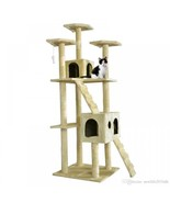 All Color Cat Tree Scratcher Play House Condo Furniture Bed Post Pet House - $128.69
