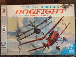 Vintage American Heritage Dogfight World War I Board Game 1963 Complete - $75.00