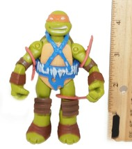 Savage Mikey Toy Figure TMNT - Michelangelo Teenage Mutant Ninja Turtles... - $14.88