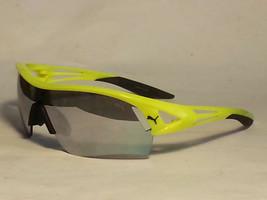 PUMA ExoLite 3D Men Sport Sunglasses Yellow Frame Gray Mirrored Lens  - $72.75