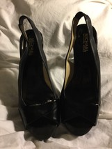 Michael Kors Black Sling Backs Size 8 - $19.99