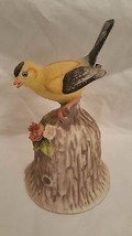 TOWLE FINE BONE CHINA YELLOW BIRD FIGURAL DINNER BELL - $9.49