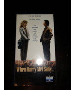 When Harry Met Sally... (VHS) Brand New Factory Sealed 1989 Original - $22.50