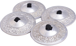 Sagets fast shipping Gold  2 pairs Zills Finger Cymbals