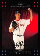 2007 Topps #383 Jon Lester > Boston Red Sox - $0.99