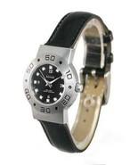New ANTON RUSANO Ladies Silver-Tone Quartz Watch Leather - $31.00