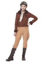 Amelia Earhart AVIATOR COSTUME California Costumes Girls L 10-12 - $38.61