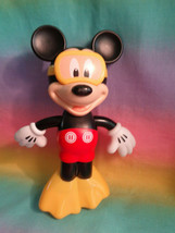 Disney Hap-p-kid Mickey Mouse Water Swimmer Wind-up Bath Toy w/ Goggles ... - $9.85