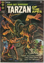 Tarzan Comic Book #152, Gold Key Comics 1965 FINE - $13.54