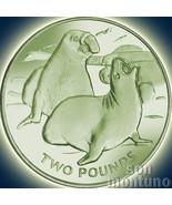 2017 Elephant Seal - TITANIUM Coin in BOX + COA South Georgia & Sandwich Islands - €52,70 EUR
