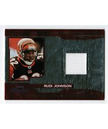 Rudi Johnson 2007 Playoff Prestige Prestigious Pros Red Jersey Card PP-7... - $3.00