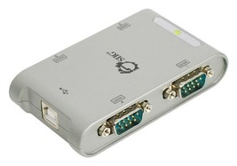 SIIG 4-Port USB to RS-232 Serial Adapter Hub (JU-SC0111-S1) (4 Port) - $64.93