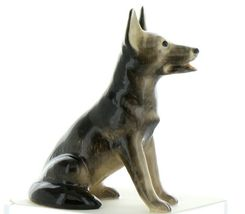 Hagen Renaker Dog German Shepherd Sitting Ceramic Figurine image 6