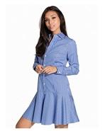 Polo Ralph Lauren Women's Striped Broadcloth Shirtdress, Blue/Navy - $109.99