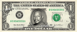 BENJAMIN SISKO on a REAL Dollar Bill Star Trek DS9 Cash Money Collectibl... - $8.88