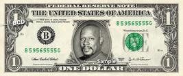 Benjamin Sisko On A Real Dollar Bill Star Trek DS9 Cash Money Collectible Memora - $8.88