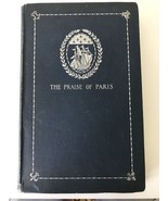 The Praise of Paris Theodore Child Illustrated 1893 Harper Brothers - $29.70